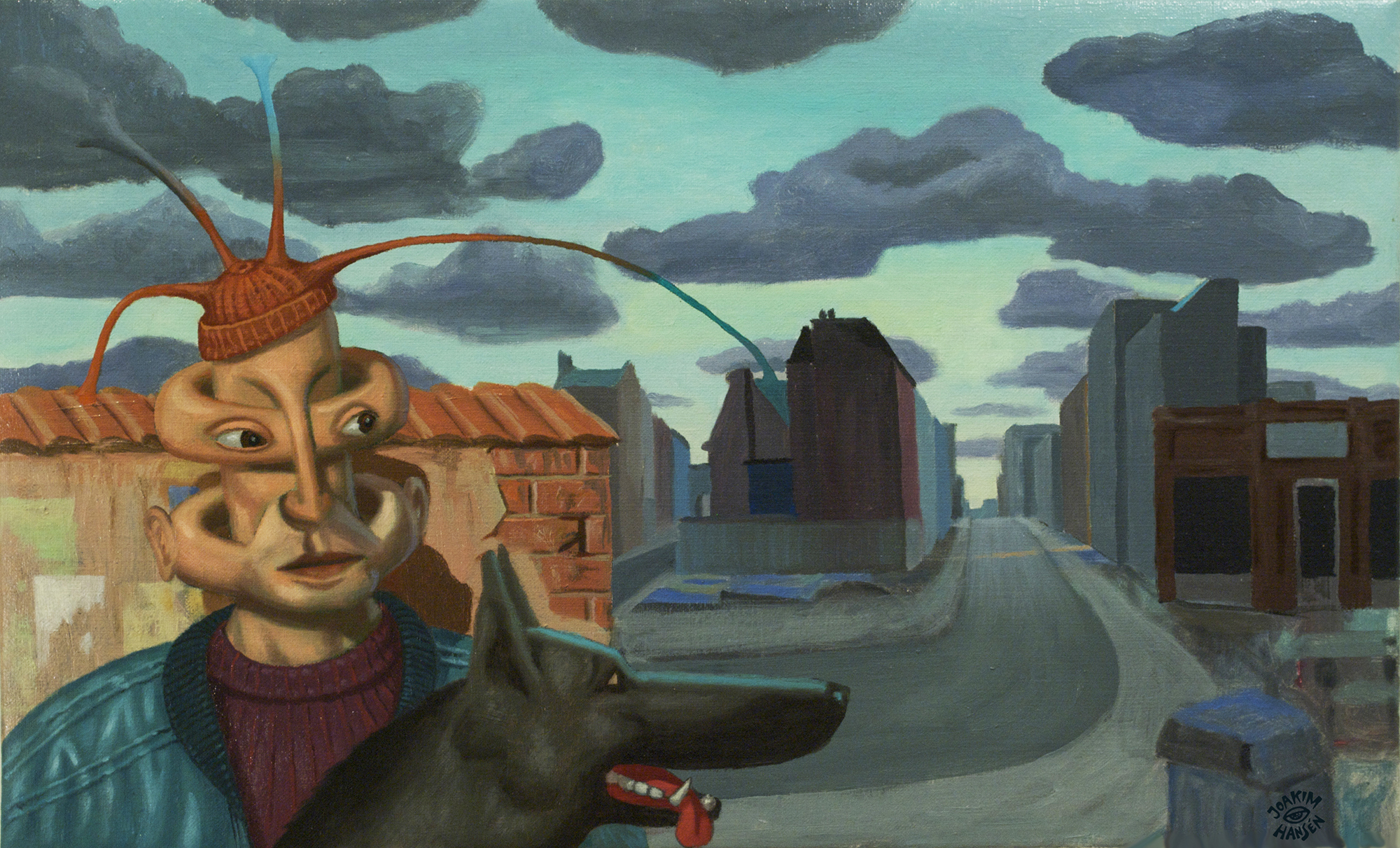 man_with_dog_joakim_hansen